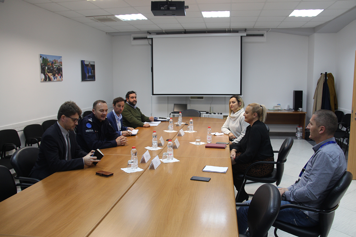 Acting Head of EULEX met with Deputy Executive Director of the Free Legal Aid Agency
