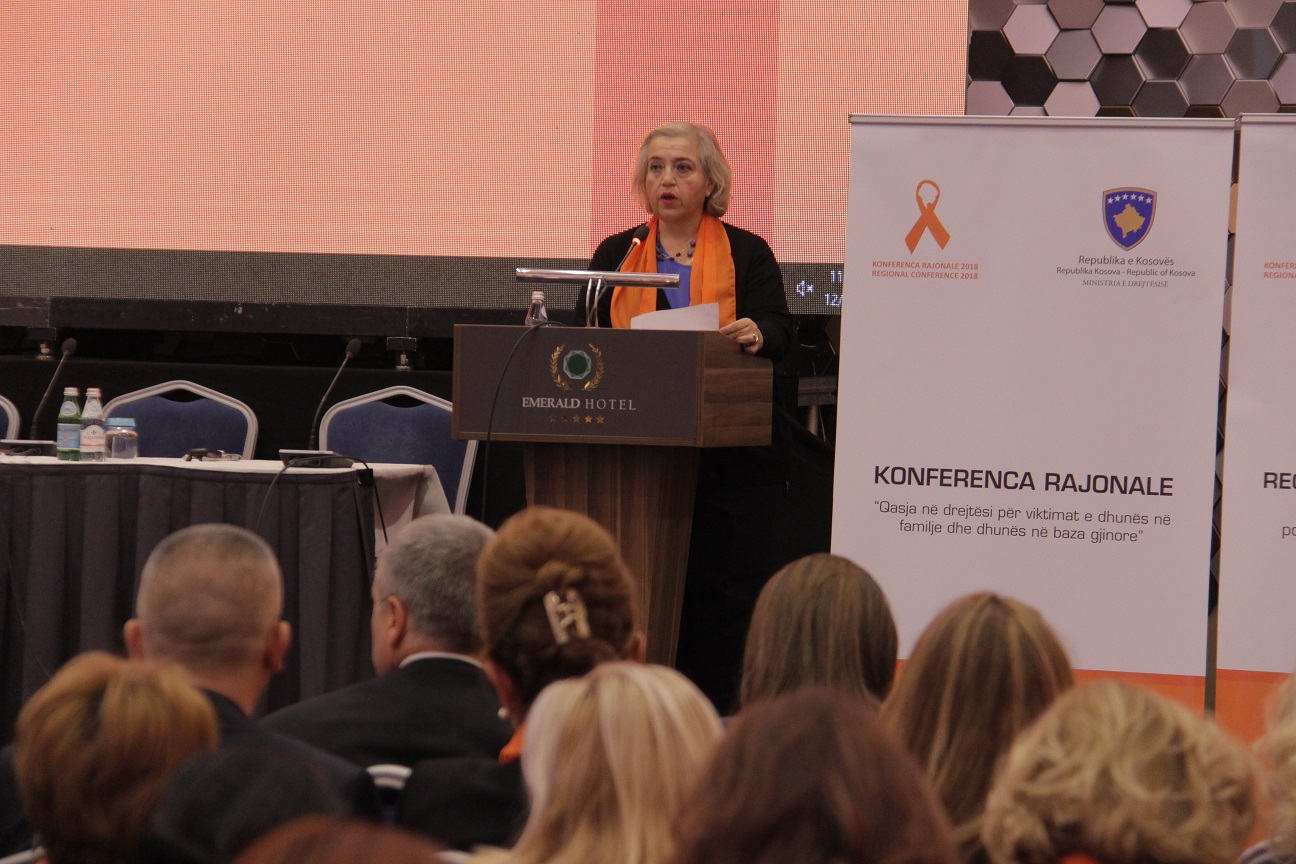 Govor šefice Misije EULEX na regionalnoj konferenciji protiv rodno zasnovanog nasilja