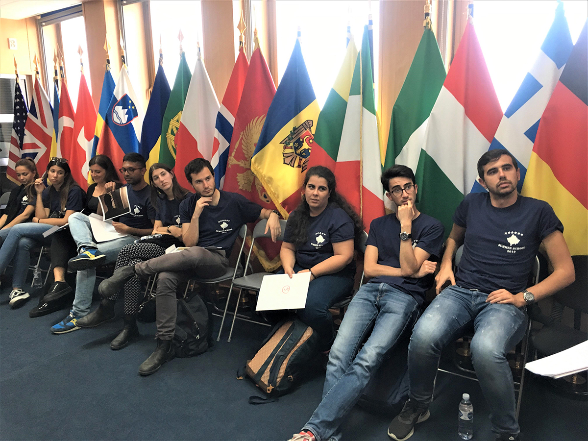 EULEX Spokesperson briefs students from Rome-based LUISS University