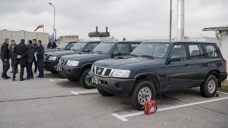 EULEX donates vehicles and equipment to Ministry of Justice