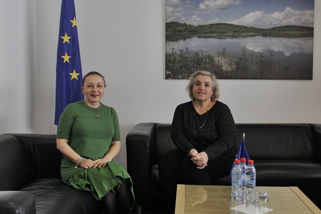 EULEX Head met with the UNDP Resident Representative in Kosovo