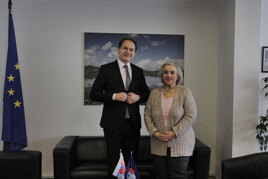 EULEX Head of Mission met with the Slovak Head of Office