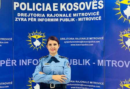 One of Kosovo Police's first women in uniform – Colonel Aferdita Mikullovci