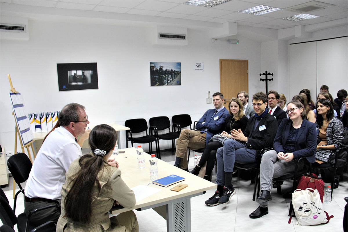 A group of German diplomats visited EULEX