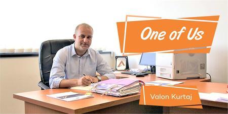 Jedan od nas: upoznajte Valjon Kurtaja