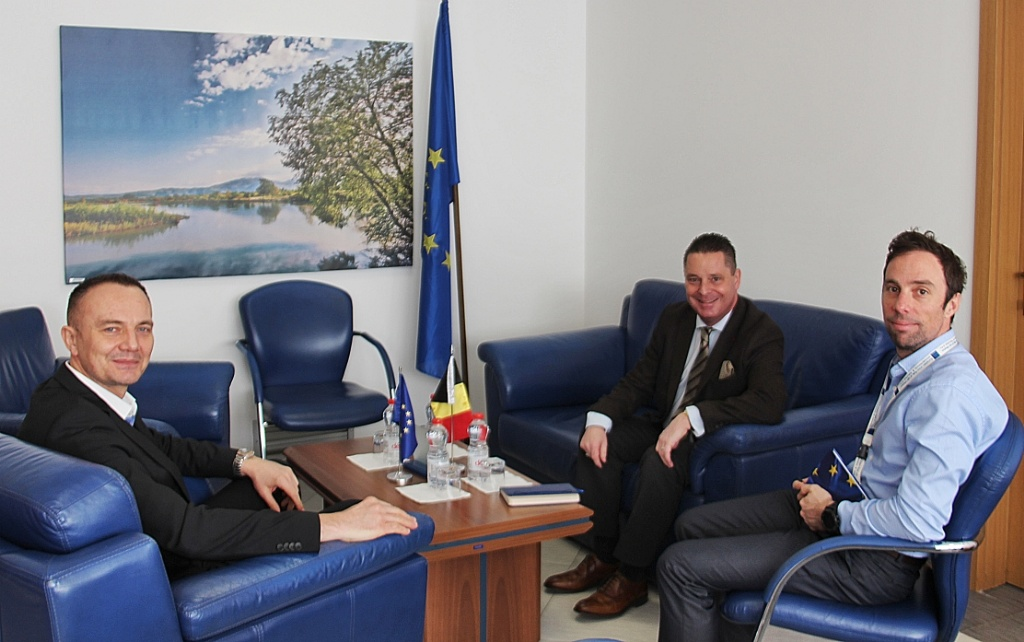 Acting Head of EULEX meets with Belgian Head of Mission