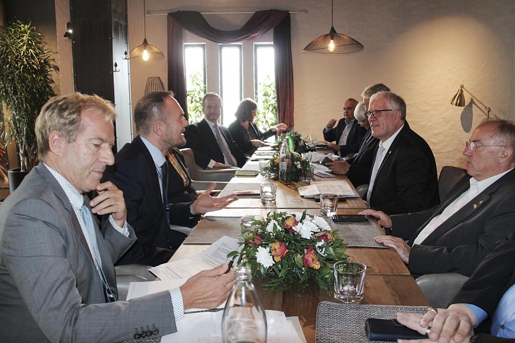 Acting Deputy Head of EULEX met with German Bundestag delegation