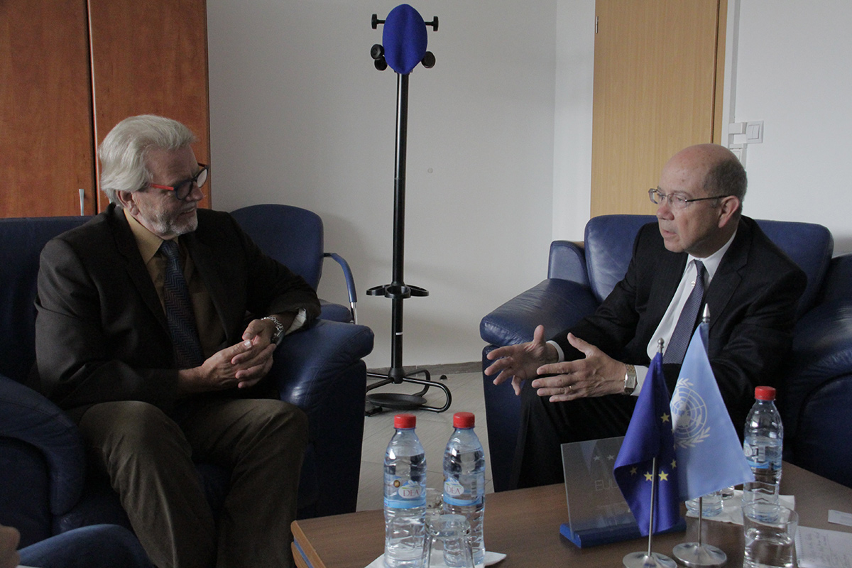 EULEX Deputy Head of Mission meets Vice-Chairman of the UN International Narcotics Control Board