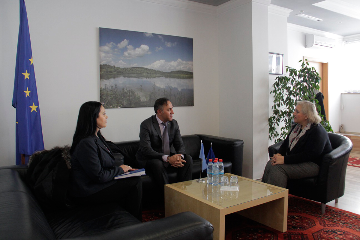 EULEX Head met with the UNHCR Chief of Mission in Kosovo