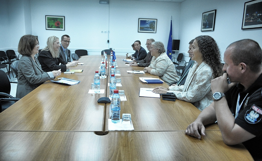 Polish Delegation from the Ministry of Foreign Affairs visits EULEX