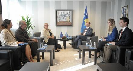 EULEX Head of Mission meets Deputy Prime Minister