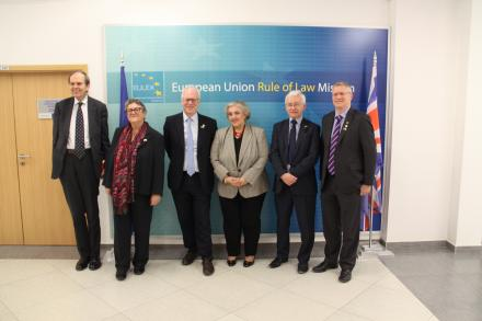 EULEX HoM meets a delegation of the British Group Inter-Parliamentary