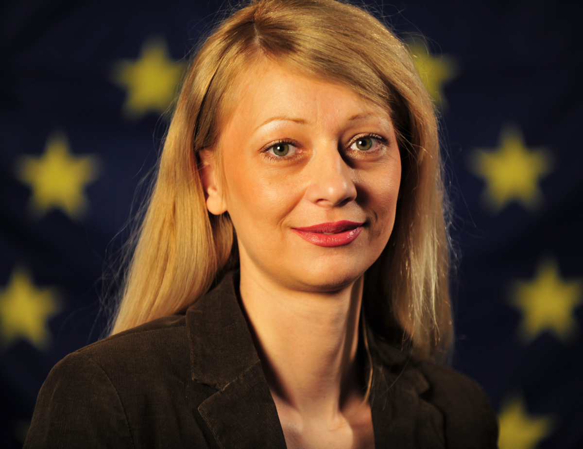 Irina Gudeljević, the Serbian spokeswoman for EULEX.